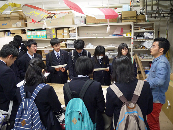 High School students visits Photo